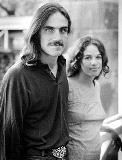 carole king and james taylor relationship